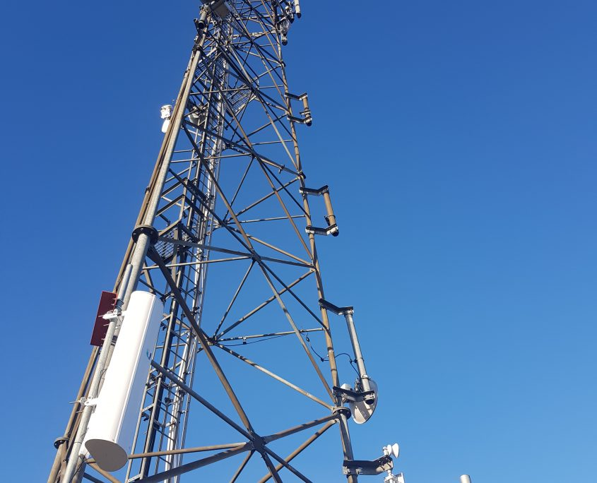External Reality Inverness Radio Mast Installation and Management